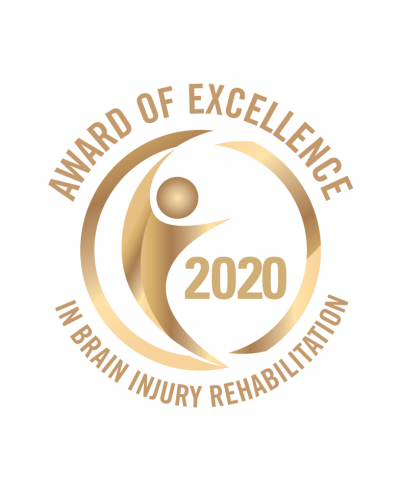 Award of Excellence in Brain Injury 2020