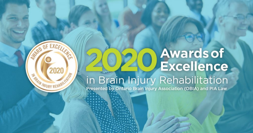 2020 Awards of Excellence in Brain Injury Rehabilitation