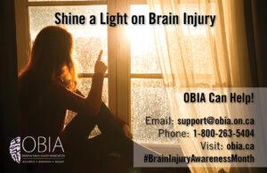 Shine a Light on Brain Injury - Poster 1
