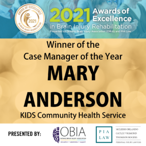 Case Manager of the Year - Mary Anderson