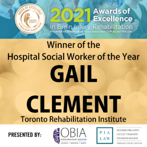 Hospital Social Worker of the Year - Gail Clement